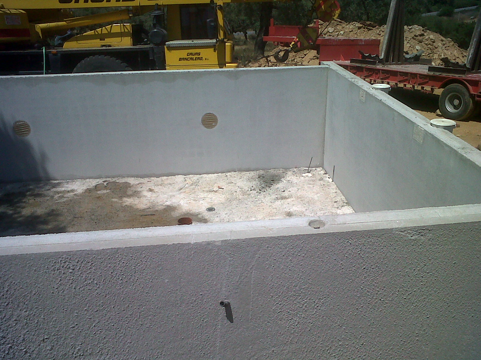 piscinas bloques hormig n prefabricados y bombeos p rez